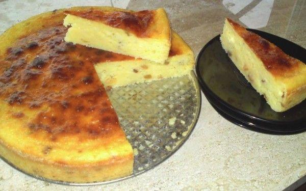 Rețetă de pască fără aluat cu brânză și stafide