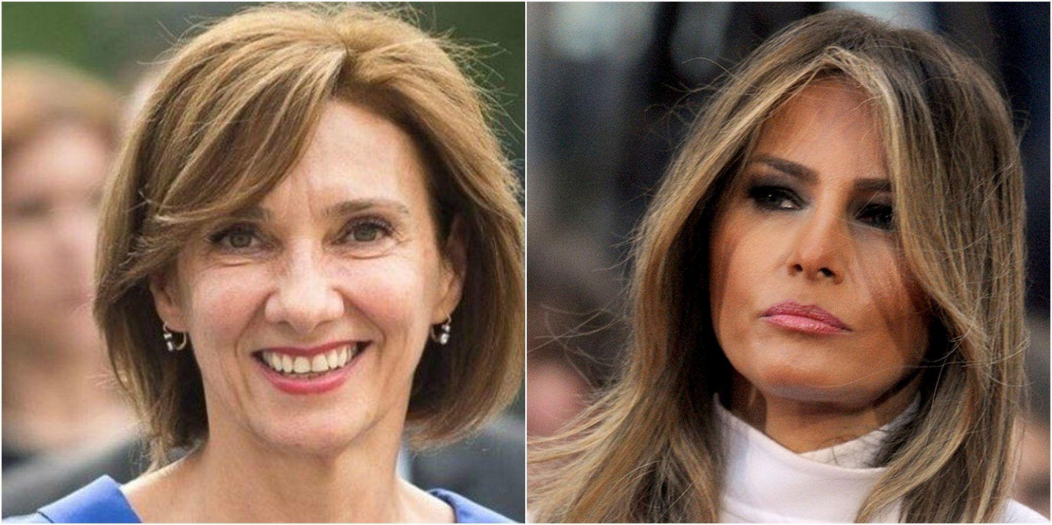 Întâlnirea dintre Carmen Iohannis și Melania Trump. Ce au avut în comun la capitolul modă