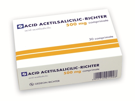 ACID ACETILSALICILIC TAMPONAT 500 mg