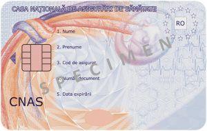 Este vorba despre cardul de sănătate! Atenționarea Societății Naţionale de Medicină a Familiei (SNMF): Utilizarea sa fizică poate fi un pericol, în contextul pandemiei
