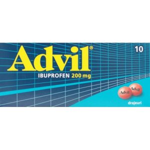 ADVIL 200 mg drajeuri