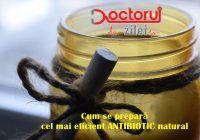 Acesta este cel mai bun ANTIBIOTIC natural! Omoară toți paraziții intestinali și bacteriile