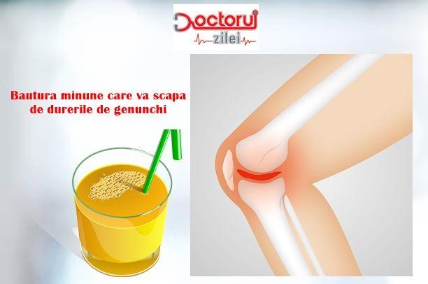 Adio, dureri de genunchi! Care este BĂUTURA MIRACULOASĂ care te scapă de durerile articulare