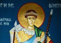 Românii sărbătoresc un mare sfânt: Sf. Dumitru, Izvorâtorul de mir. Ce este absolut INTERZIS să faceți astăzi