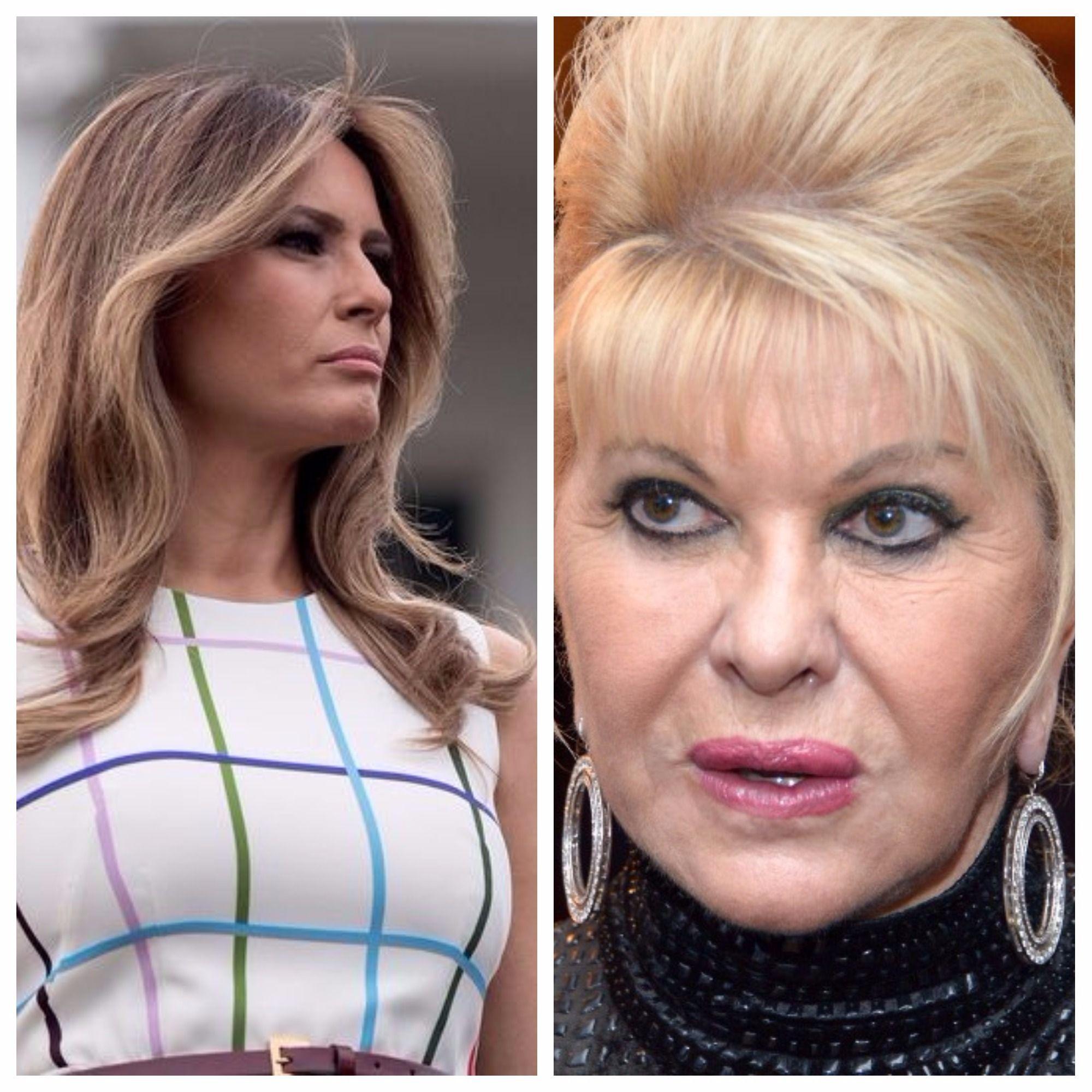 """Schimb acid de replici între Melania și prima soție a lui Donald Trump. """"În principiu eu sunt prima soţie a lui Trump. Eu sunt prima doamnă, bine?"""""""