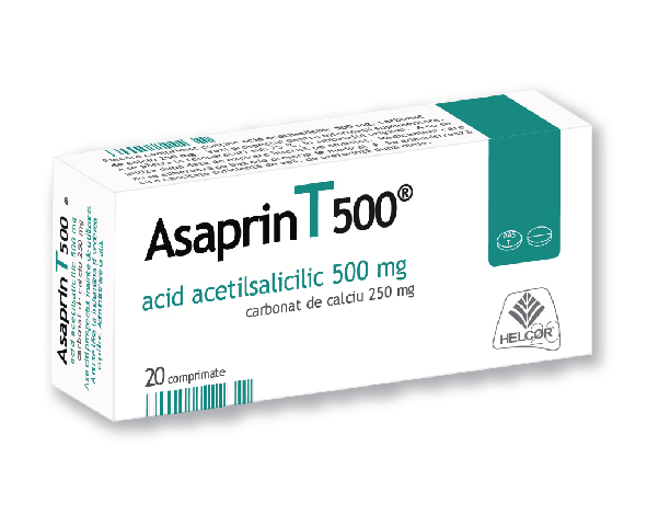 ASAPRIN 500 mg Comprimate