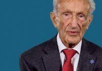 Secretul longevității și al fericirii DEZVĂLUIT de un bărbat în vârstă de 92 de ani, SUPRAVIEȚUITOR al HOLOCAUSTULUI