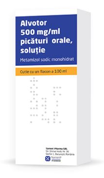 Alvotor 500 mg/ml picaturi orale, solutie