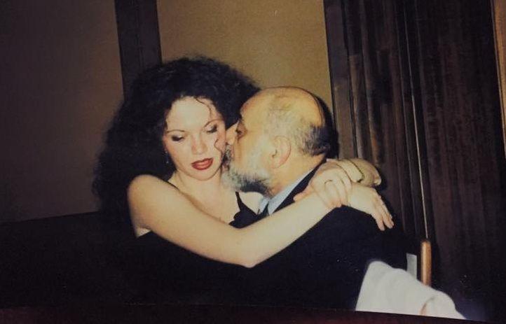 Oana și Viorel Lis la începutul relației lor