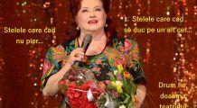 Stela Popescu, doamna teatrului românesc, a tras cortina pe Pământ. Rămâne o actriță neegalabilă, care a trăit cu zâmbetul pe buze