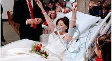 Și-a îndeplinit ultima dorință. O femeie s-a căsătorit pe patul de spital și a murit la doar câteva ore