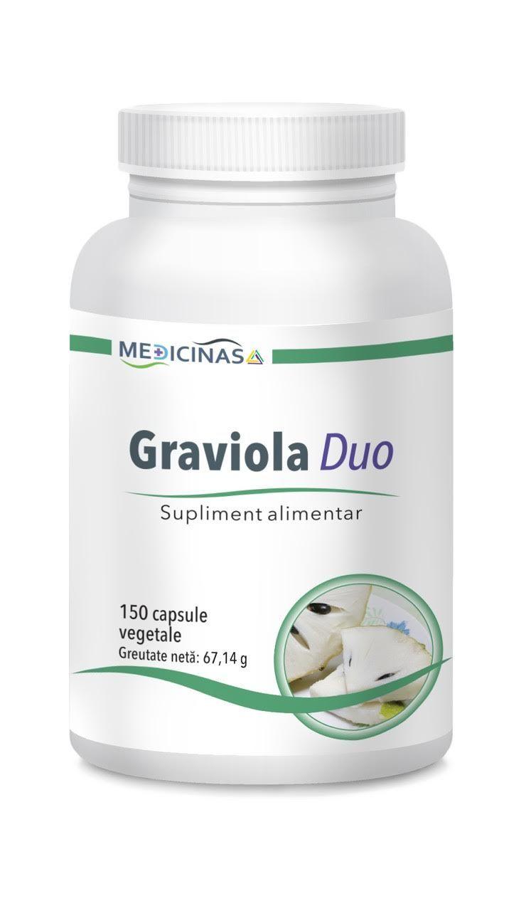 GRAVIOLA DUO – cel mai cunoscut citostatic natural in terapia cancerului (P)