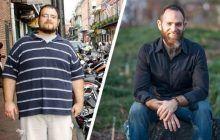 """Cele opt reguli care l-au ajutat pe acest bărbat să slăbească 70 de kilograme în 3 luni. """"Evitați dietele!"""""""