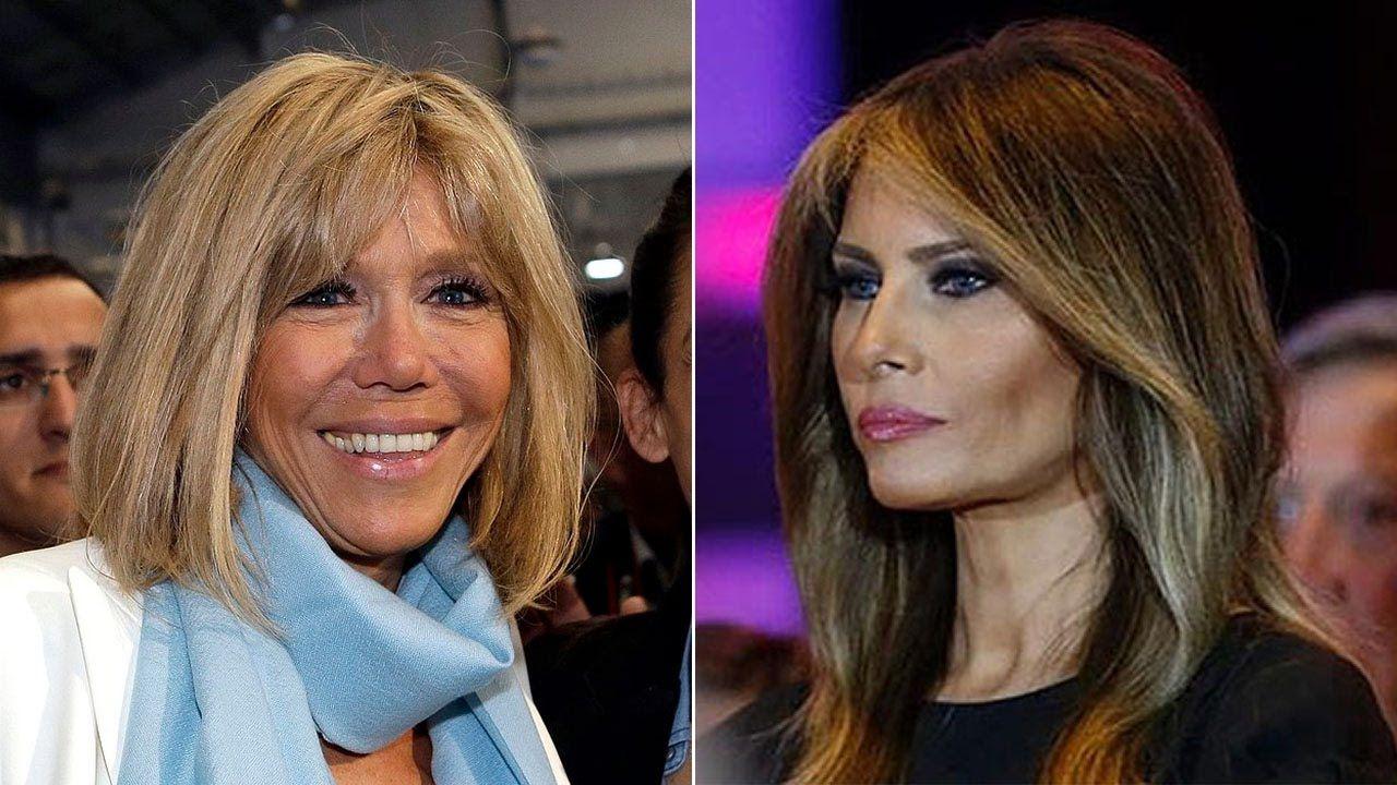 """Brigitte Macron a spus că o compătimește pe Melania Trump. """"Nu poate face nimic..."""""""