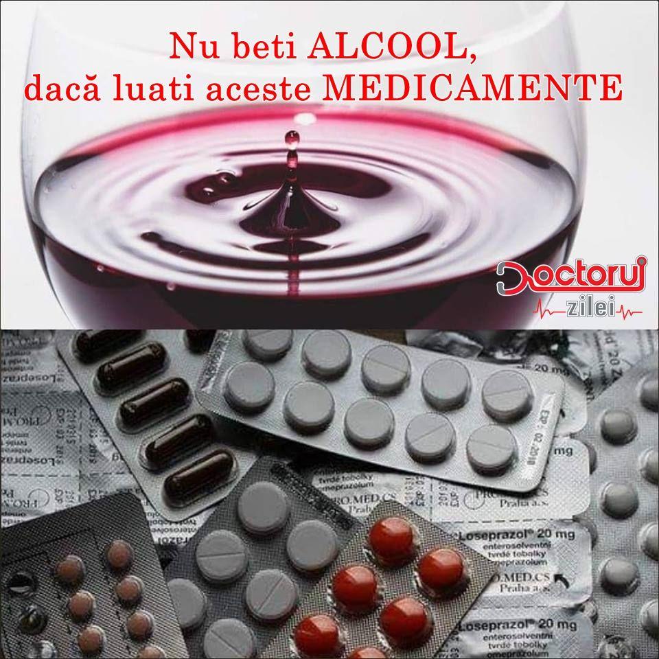 Este INTERZIS să amestecați aceste MEDICAMENTE cu alcool! Combinația poate fi FATALĂ