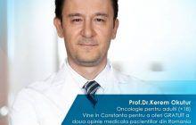 ONCOLOG turc de renume vine în România pentru a oferi GRATUIT a doua opinie medicală