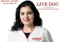 LiveDoc cu dr. Erna Stoian, medic primar obstetrica ginecologie, specialist in infertilitatea cuplului si reproducere umana asistata/FIV. Infertilitatea este o BOALĂ, nu o condamnare