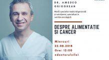 Alimentația în CANCER. Ce trebuie să mănânce o persoană diagnosticată cu cancer – LiveDoc cu doctor Amedeo Grigorean