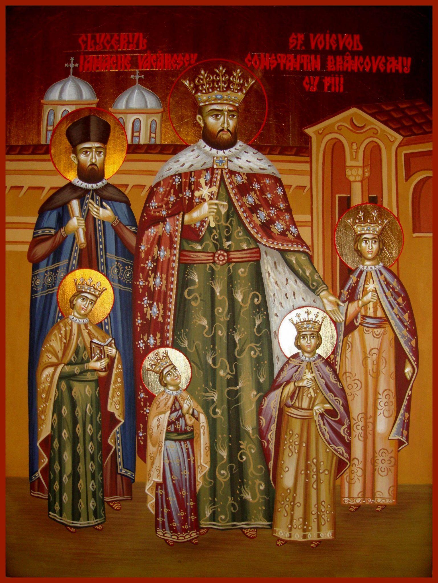 Zi de mare sărbătoare și comemorare astăzi! Sf. Martiri Brâncoveni: Constantin Vodă cu cei patru fii ai săi, Constantin, Ştefan, Radu, Matei, şi sfetnicul Ianache