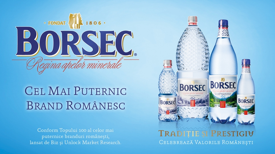 Borsec, cel mai puternic brand românesc (P)
