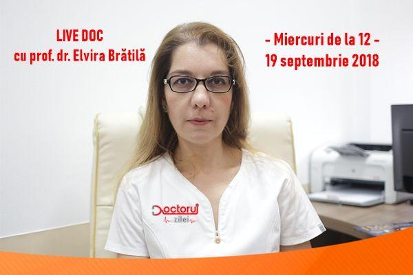 LiveDoc cu dr. Elvira Brătilă despre boala femeilor neiubite, ENDOMETRIOZA