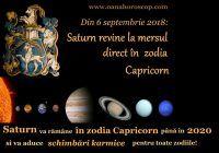 Schimbări karmice drastice din 6 septembrie! Ce ne aduce Saturn în Capricorn