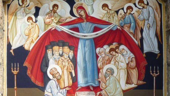 Sărbătoare importantă pe 1 octombrie. Biserica Ortodoxă Română prăznuiește Acoperământul Maicii Domnului