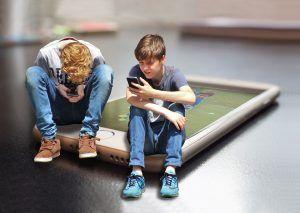 Modificari halucinante ale creierului la copiii care petrec mult timp pe dispozitive mobile