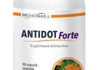 Tratament hepatita A,B,C si alte virusuri – Antidot Forte – 90 capsule (P)