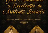Gala Nationala de Excelenta in Asistenta Sociala