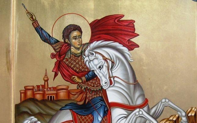 Sfântul mare mucenic Gheorghe se sărbătorește astăzi. Aproape 1 milion de români îi poartă numele. Ce este bine să faci azi