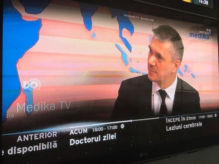 Postul de televiziune MedikaTV în grila de programe RCS-RDS