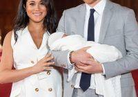 Prima fotografie cu bebelușul prințului Harry și al lui Meghan Markle