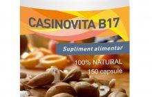 Vitamina B17 – 150 Capsule – Casinovita B17 de la Medicinas. Sustine sistemul imunitar la cei cu afectiuni oncologice (P)
