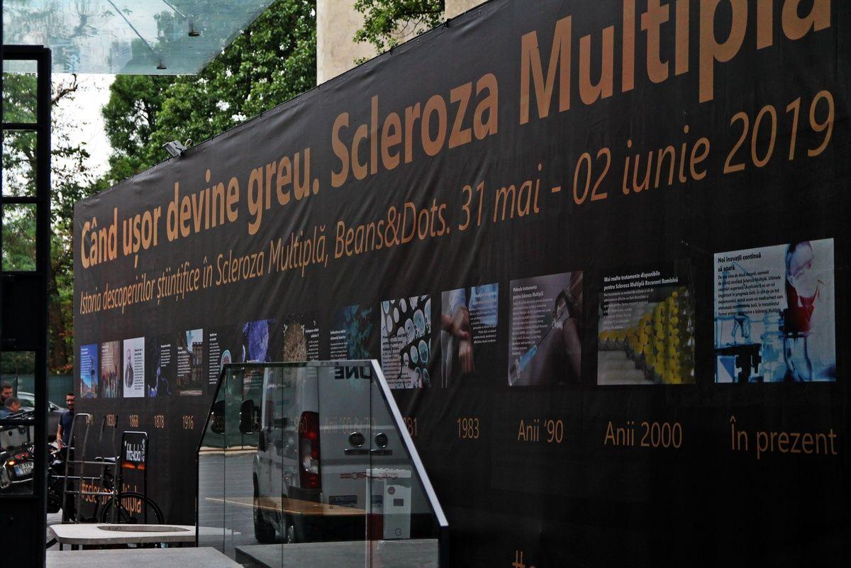Simptomele sclerozei multiple au putut fi experimentate într-un proiect premieră în România: când ușor devine greu
