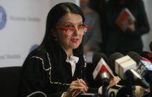 Sorina Pintea, ministrul Sanatatii, sustine o conferinta de presa la sediul Ministerului, joi, 8 februarie 2018.