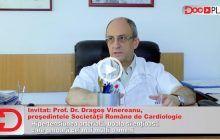 """DocPlay. Prof. Dr. Dragoș Vinereanu: """"În cel mai fericit caz, când nu tratezi hipertensiunea, mori subit. În cazurile cele mai rele…"""""""
