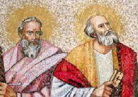 Sfinții Apostoli Petru și Pavel, sărbătoare cu importante semnificații. Ce este absolut interzis în această zi și care sunt cele mai cunoscute tradiții