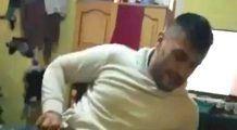 Un bărbat din Vrancea, filmat în timp ce batjocorea o fetiță. Imaginile au fost predate polițiștilor