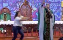 Caz șocant de agresiune asupra unui preot, după ce a afirmat că femeile grase nu ajung în Rai – Video