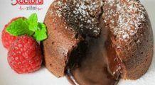 Lava cake. Cum poți face cea mai bună prăjitură vulcan într-un timp record și fără ouă