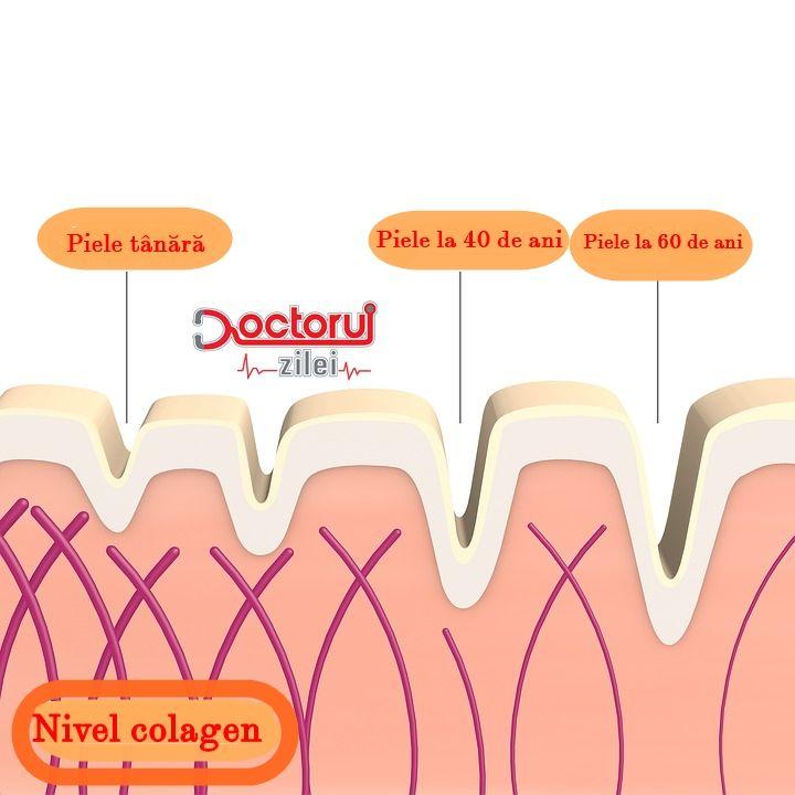 După 50 de ani, am pierdut jumătate din cantitatea de colagen a pielii. Ce mâncăm pentru a suplini carența și a stimula producția naturală