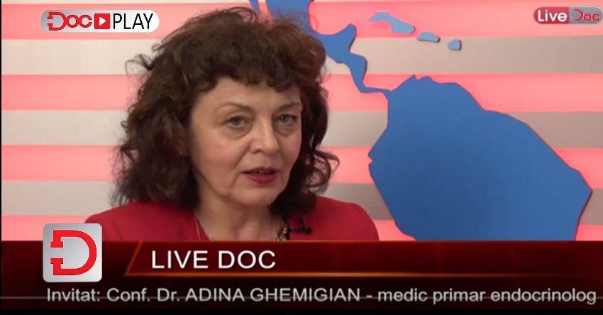 """Disfuncțiile tiroidiene afectează întreg organismul și pot fi moștenite. Conf. dr. Adina Ghemigian: """"Lipsa hormonilor tiroidieni determină un coeficient de inteligență net redus"""""""