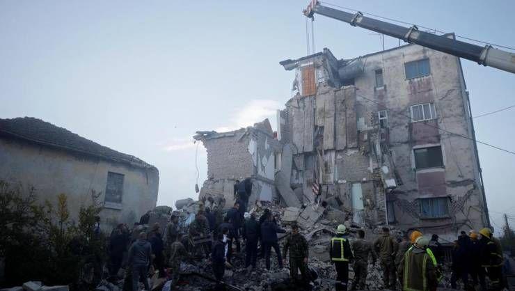 Crucea Roșie Română lansează un apel umanitar de urgență în  urma cutremurului devastator din Albania