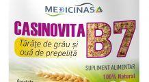 Vitamina B7, biotina sau Casinovita B7 de la Medicinas , una din cele mai importante pentru sanatatea femeilor , este vitamina frumusetii si fertilitatii! (P)