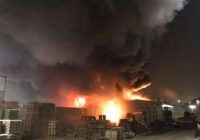Dezastrul de pe șoseaua Fundeni. Bucureștenii au fost alertați să stea departe de zonă, degajările de fum erau foarte periculoase