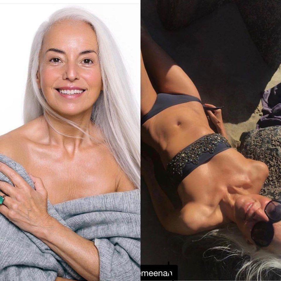 A descoperit elixirul tinereții. Această femeie arată așa la 63 de ani datorită unui produs ieftin cu care se dă zilnic pe piele