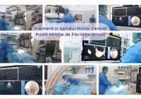 Premieră în Spitalul Militar Central – prima Ablație de Fibrilație atrială