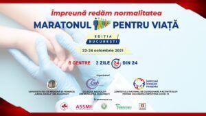Începe Maratonul vaccinării în Capitală. Iată ce categorii de persoane pot participa la acest eveniment